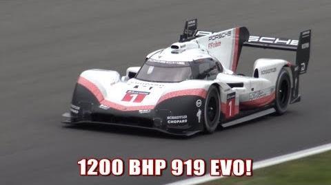 """Lap Record! Porsche 919 EVO """"Tribute"""" At Spa Francorchamps"""