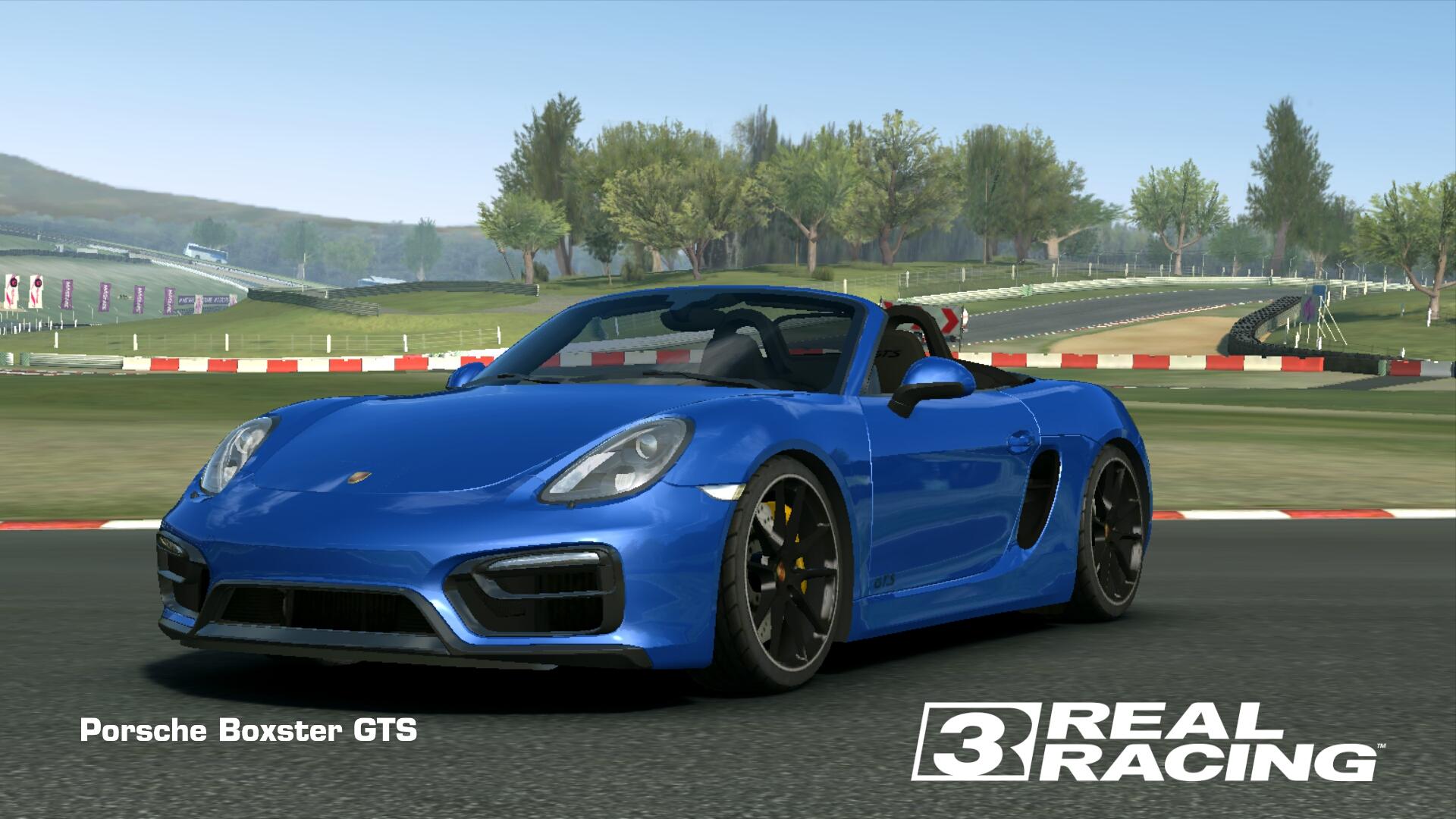 Showcase Porsche Boxster GTS