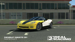 Corvette ZR1 LM Race Car