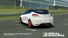 Megane RS 275 Trophy-R Back