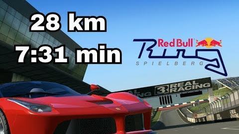 TC Red Bull Ring Distanz 28km 7 31min