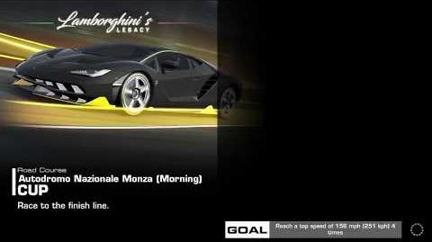 Lamborghini's Legacy, Stage 1 Race 1, Upgrades 3232122
