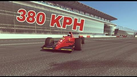 TC Top Speed 380 KPH Ferrari 412 T2 Monza GP