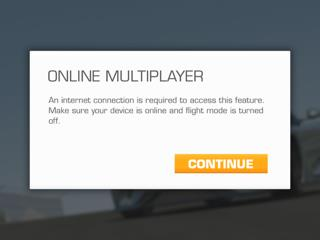Unable to connect with Real Racing 3 although wi-fi works