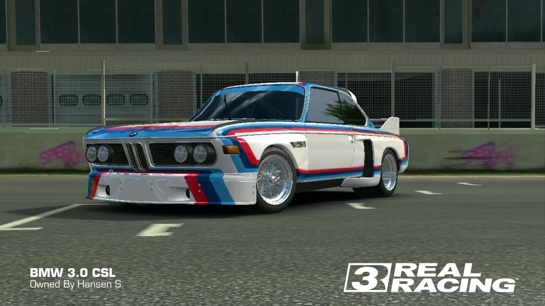 BMW CSL Real Racing Wiki FANDOM Powered By Wikia - 3 0 bmw