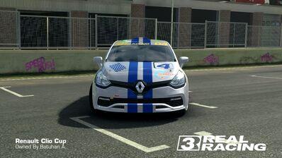 Clio Cup Team SB No.4 Front
