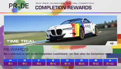 BMW Pride Celebration Time Trial Competition