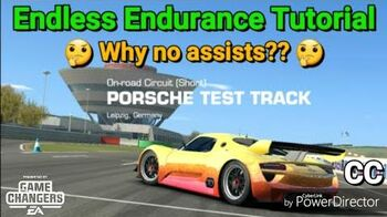Endless Endurance, Why No assists?? Tutorial with CC-1585756975
