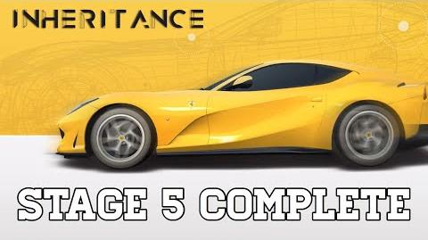 Real Racing 3 Inheritance Stage 5 Complete Upgrades 1131111 RR3-0