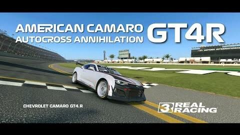 Real Racing 3 American Camaro GT4R Autocross Annihilation - Only 2 Races