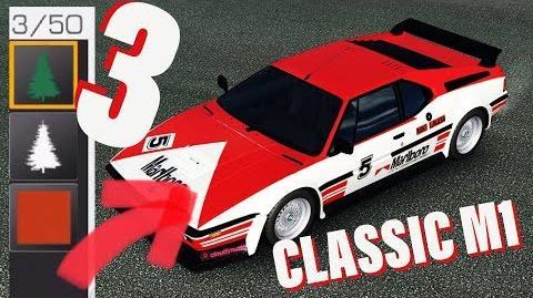 3 Classic Liveries of BMW M1