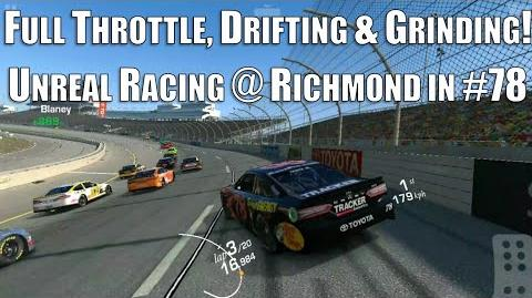 Full throttle, drifting, wall grinding madness @ Richmond in the Truex 78