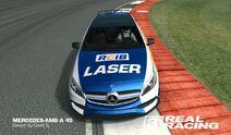 Laser Mercedes Silverstone 1