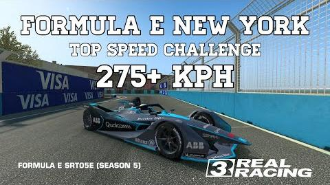 Real Racing 3 Formula E New York Top Speed Challenge 275 kph RR3