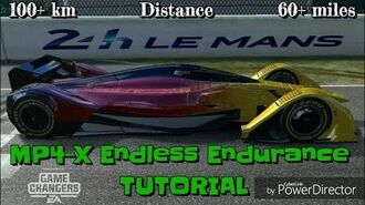 Le Mans MP4-X Endless Endurance Tutorial. Max fame minute!! CC-1581393050