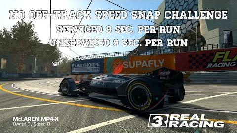 Real Racing 3 No Off-Track Speed Snap Challenge 8 Sec
