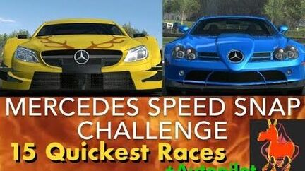 Real Racing 3 RR3 Mercedes Speed Snap Challenge 15 Quickest Races and Autopilot-1