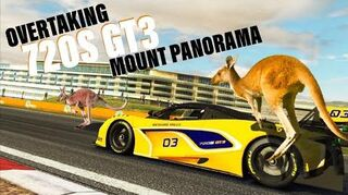 McLaren 720S GT3 Mount Panorama Overtaking Challenge (Best Option)