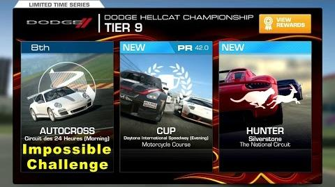 Real Racing 3 Impossible Challenge Dodge Hellcat Championship Tier 9