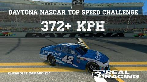 RR3 Daytona NASCAR Top Speed Challenge 372 kph Real Racing 3