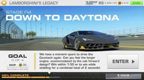 Lamborghini's Legacy, Stage 4 Race 2, using Lamborghini Countach