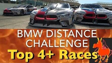 Real Racing 3 RR3 BMW Distance Challenge Top 4 Races