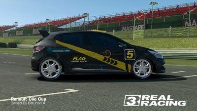 Clio Cup SB Edition No.5 Side
