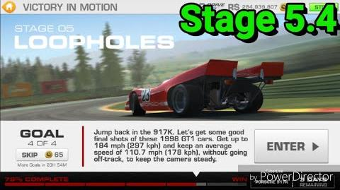 Victory in Motion; Stage 5