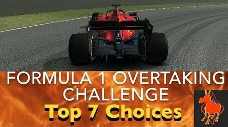 Real Racing 3 RR3 Formula 1 Overtaking Challenge Top 7 Choices-0