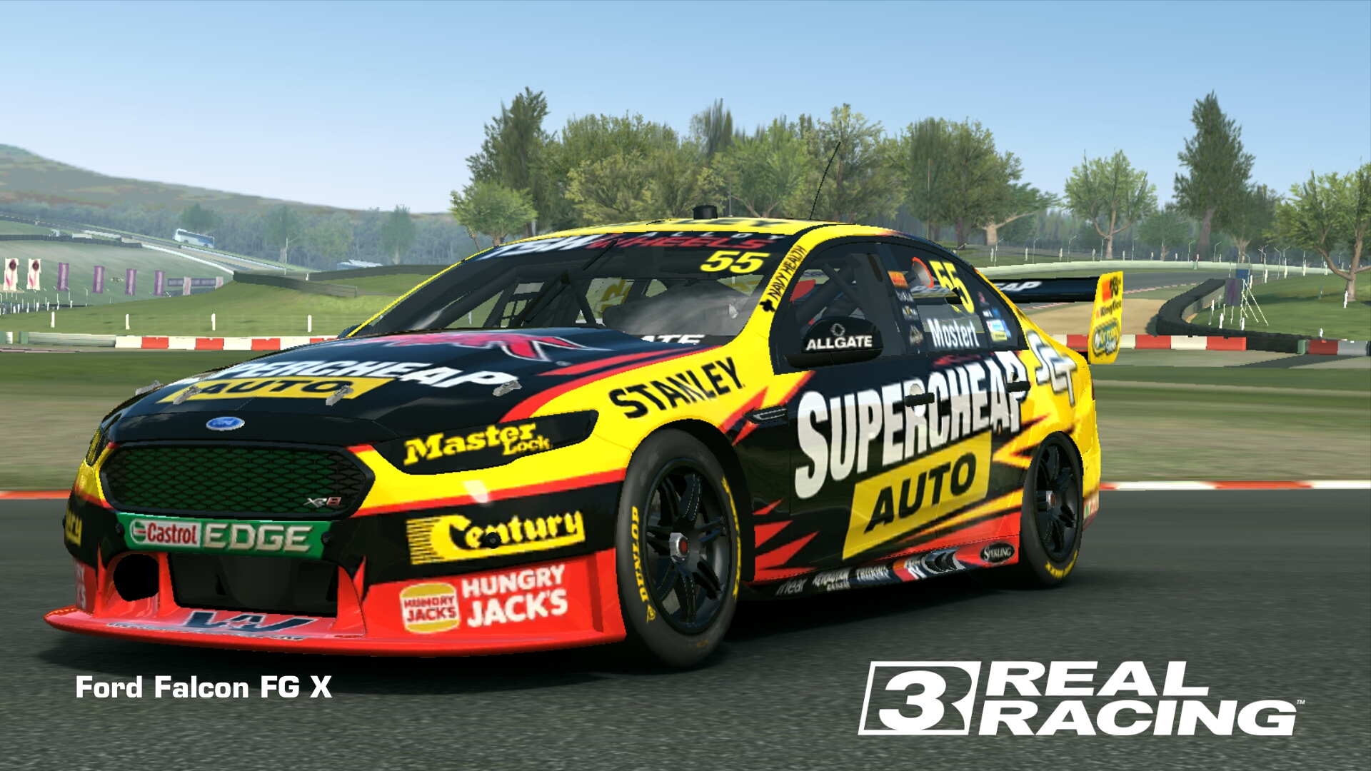 V8 Supercar Liveries Template Monster