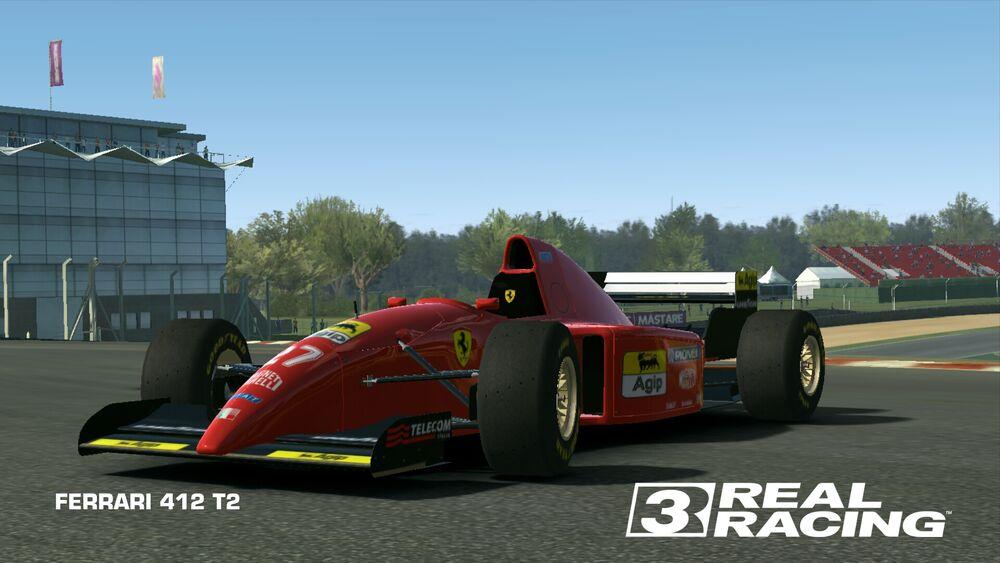 Fongu's GP4 cars & F1 model reviews: GP4: 1995 Ferrari 412T2