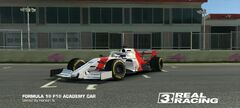 F1 Academy Car MP4-4 Second Tribute