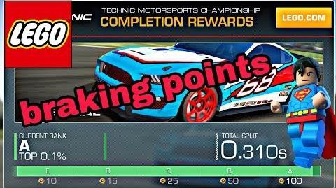 !!Braking points!! Lego Technik TT Indy Speedway 1 09.822 min.