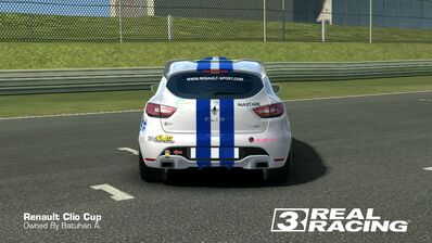 Clio Cup Team SB No.4 Rear