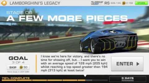 Lamborghini's Legacy, Stage 6 Race 3, Upgrades 3232122