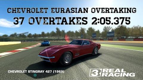 RR3 Chevrolet Eurasian Overtaking Challenge 3,4sec Per Overtake Real Racing 3