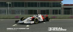 F1 Academy Car MP4-4 Tribute