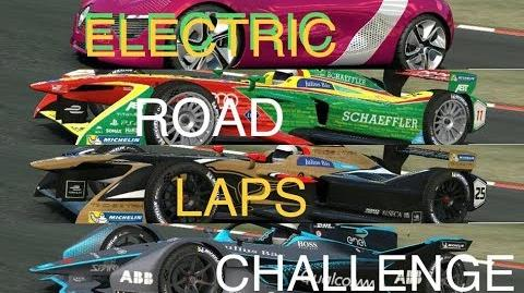Real Racing 3 RR3 Electric Road Laps Challenge Best Races