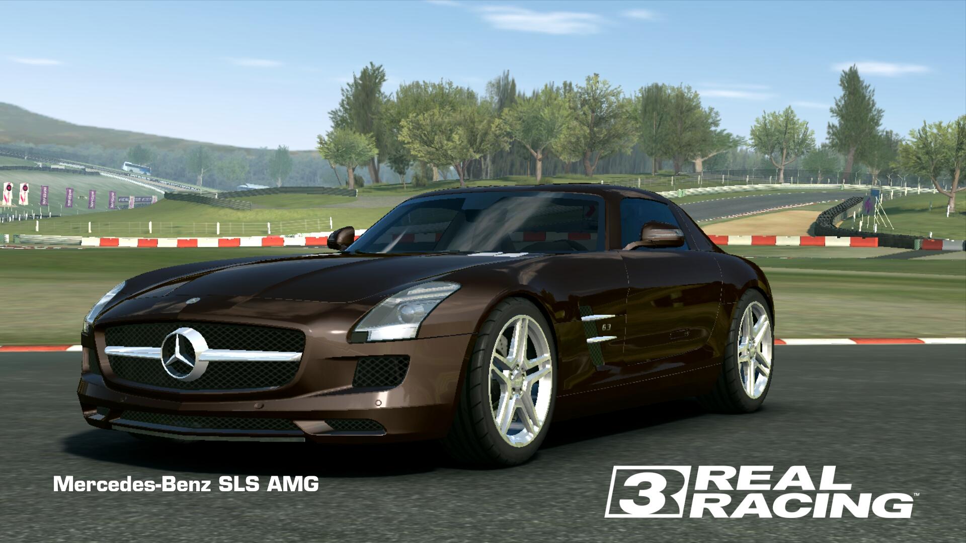 Showcase Mercedes-Benz SLS AMG