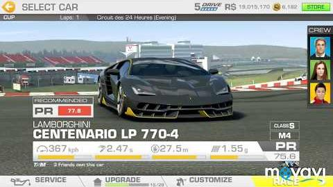 Video Real Racing 3 Lamborghini S Legacy Stage 05 Goal 4 Top