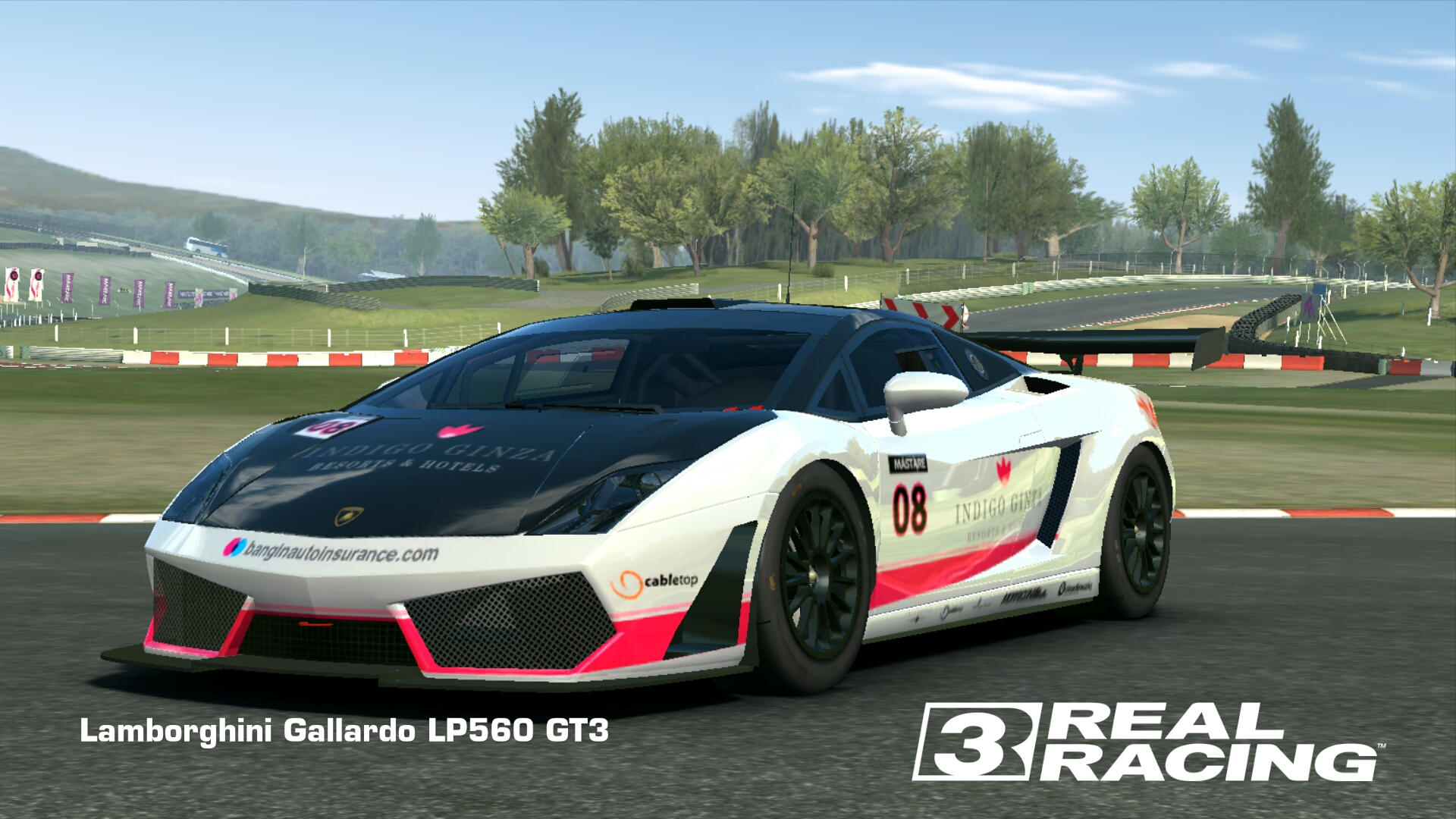 Showcase Lamborghini Gallardo LP560 GT3