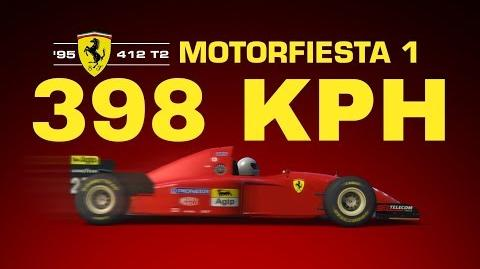 TC Top Speed 398 KPH Ferrari 412 T2 Monza GP Motorfiesta win series