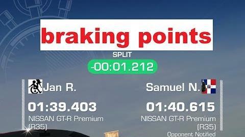!!braking points!! WTTT Dubai Nissan GTR 1 39,403