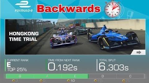 Formula E TT Hong Kong Backwards 51.174 sec
