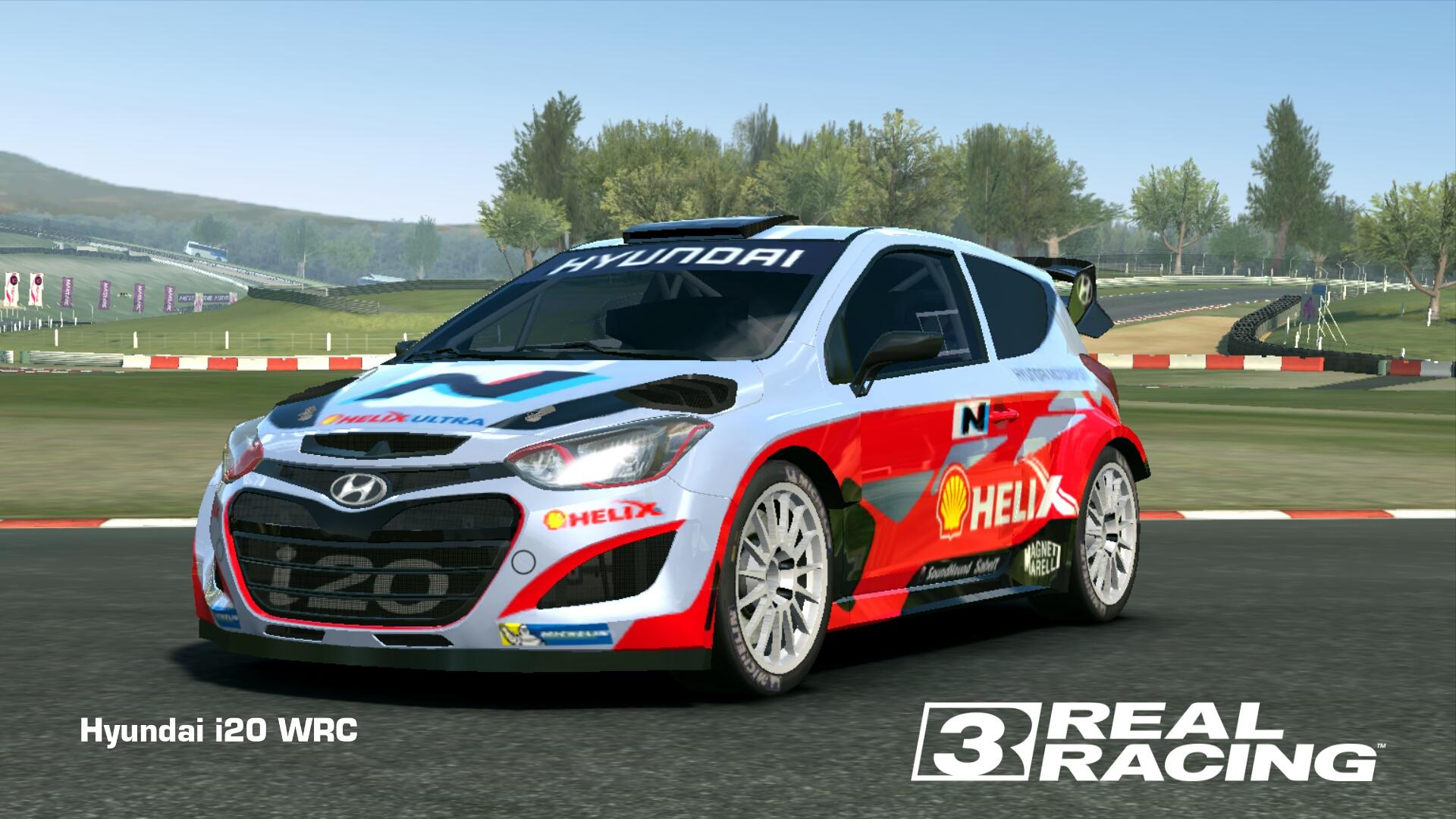 Showcase Hyundai i20 WRC