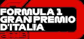 FORMULA 1 GRAN PREMIO D'ITALIA 2019 flag