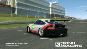 Porsche GT Racing Team No. 9 911 GT3 Cup (Back)