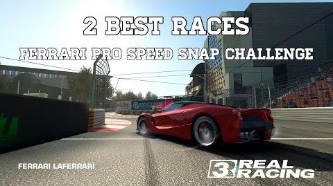 Real Racing 3 Ferrari Pro Speed Snap Challenge 2 Best Races RR3