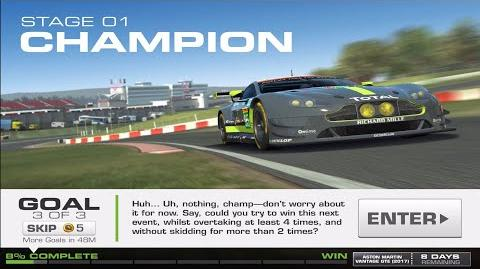 RR3 Balance Of Power Stage 1 Goal 3 No Upgrades Real Racing 3