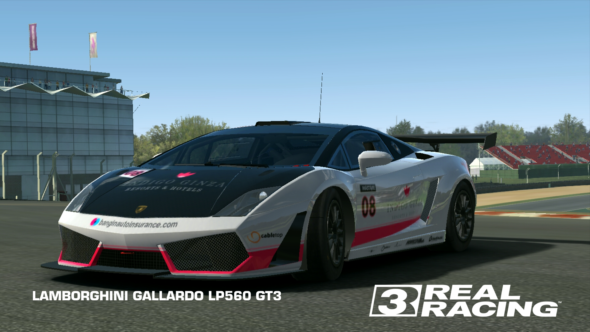 Lamborghini Gallardo Lp560 Gt3 Real Racing 3 Wiki Fandom Powered